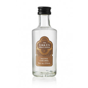The Lakes Salted Caramel Vodka Liqueur Miniature 5cl