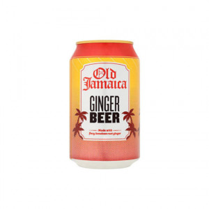 D & G Old Jamaican Ginger Beer 24 x 330ml Cans