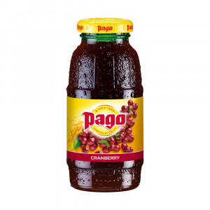 Pago Cranberry Juice 1x200ml