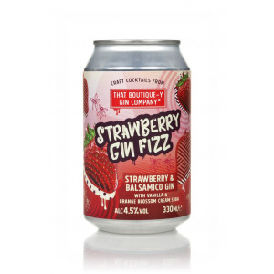 That Boutique-y Gin Company Strawberry Gin Fizz Can 330ml