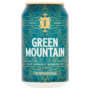 Thornbridge Brewery - Green Mountain IPA 24 x 330ml Cans