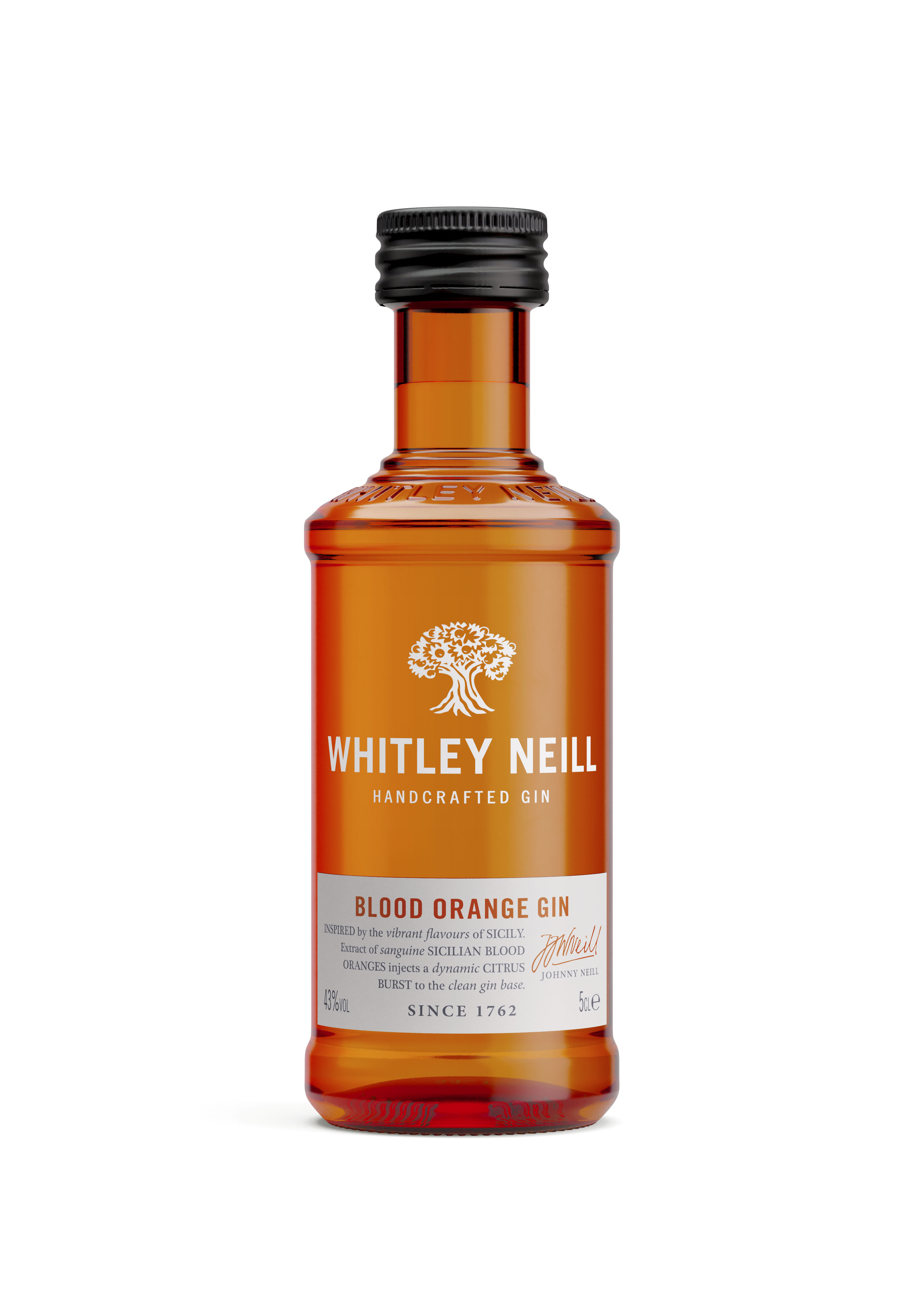 Whitley Neill Blood Orange Gin Miniature 5cl