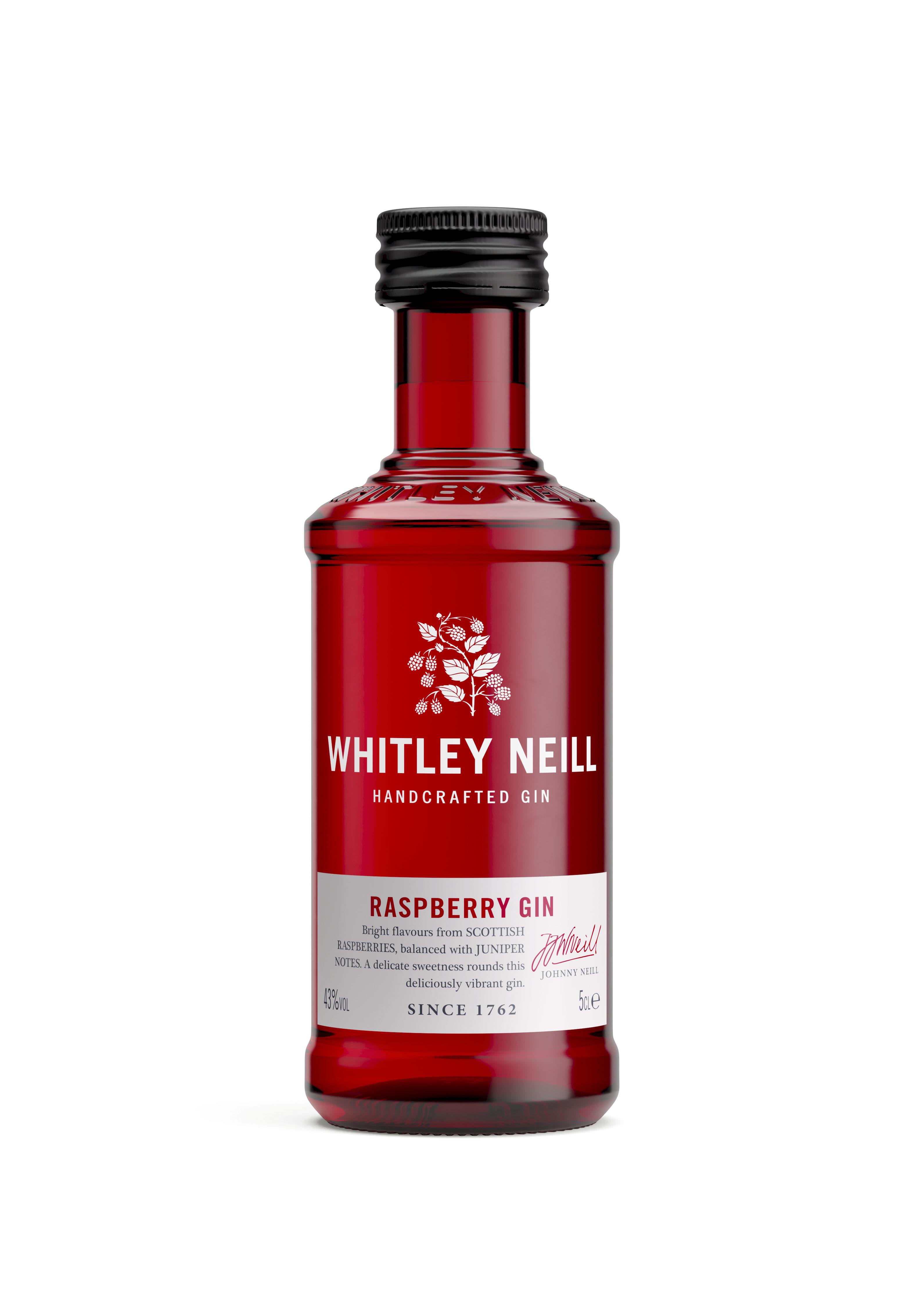 Whitley Neill Raspberry Gin Miniature 5cl