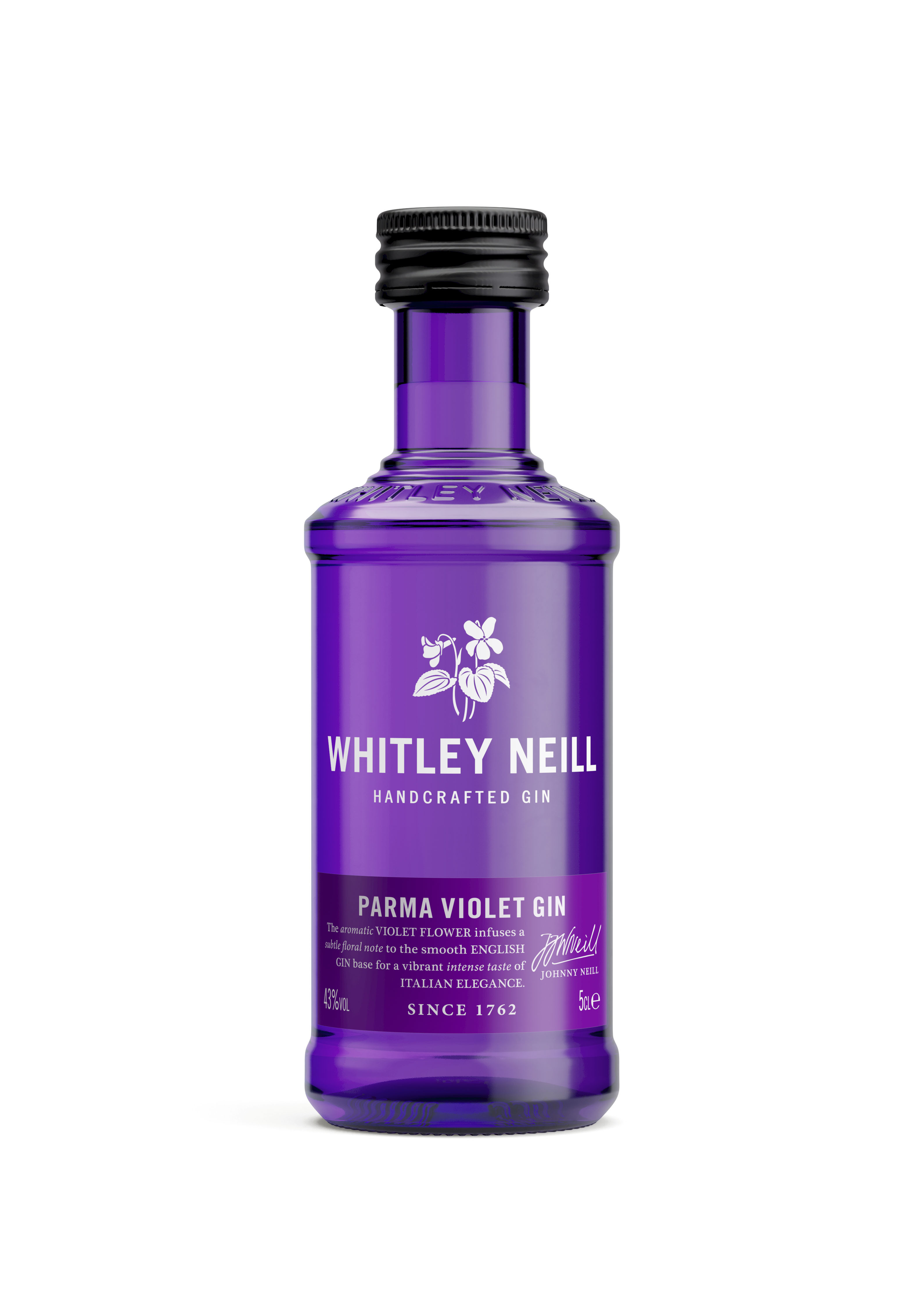 Whitley Neill Parma Violet Gin Miniature 5cl