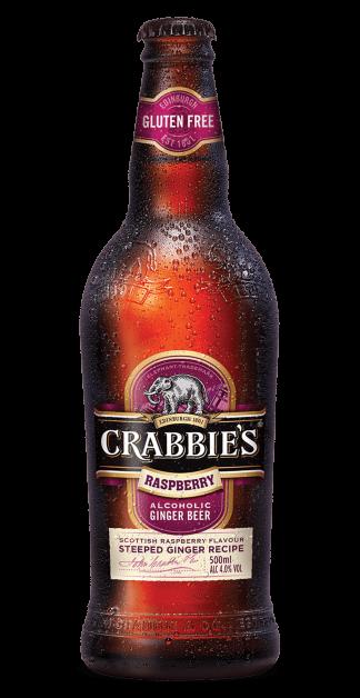 Crabbies Raspberry Alcoholic Ginger Beer 12 x 500ml