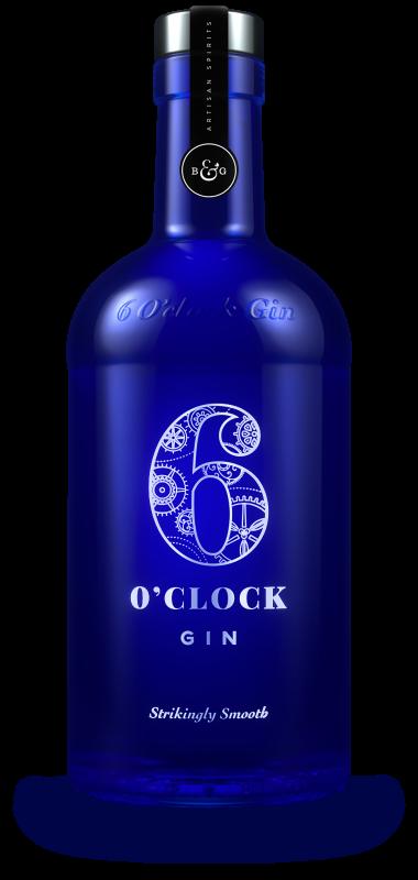 6 O' Clock Gin 70cl