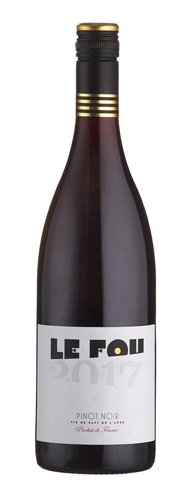 Le Fou Pinot Noir, Pays d'Oc 2018 75cl