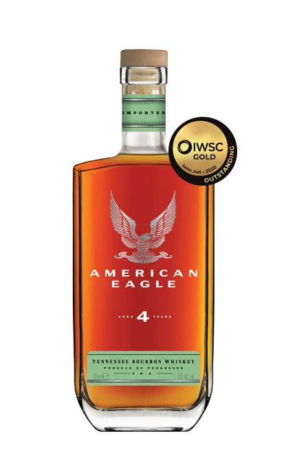 American Eagle 4yr Bourbon 70cl