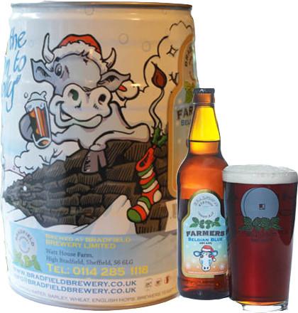 Bradfield Brewery - Belgian Blue Mini Keg 5 litre