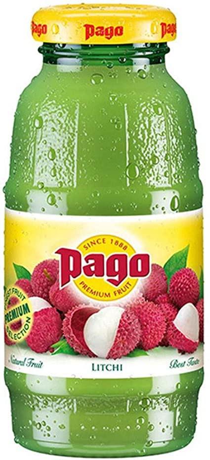 Pago Lychee Juice 1x200ml