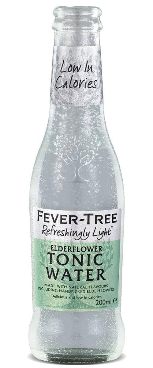 Fevertree Light Elderflower Tonic 24x200ml