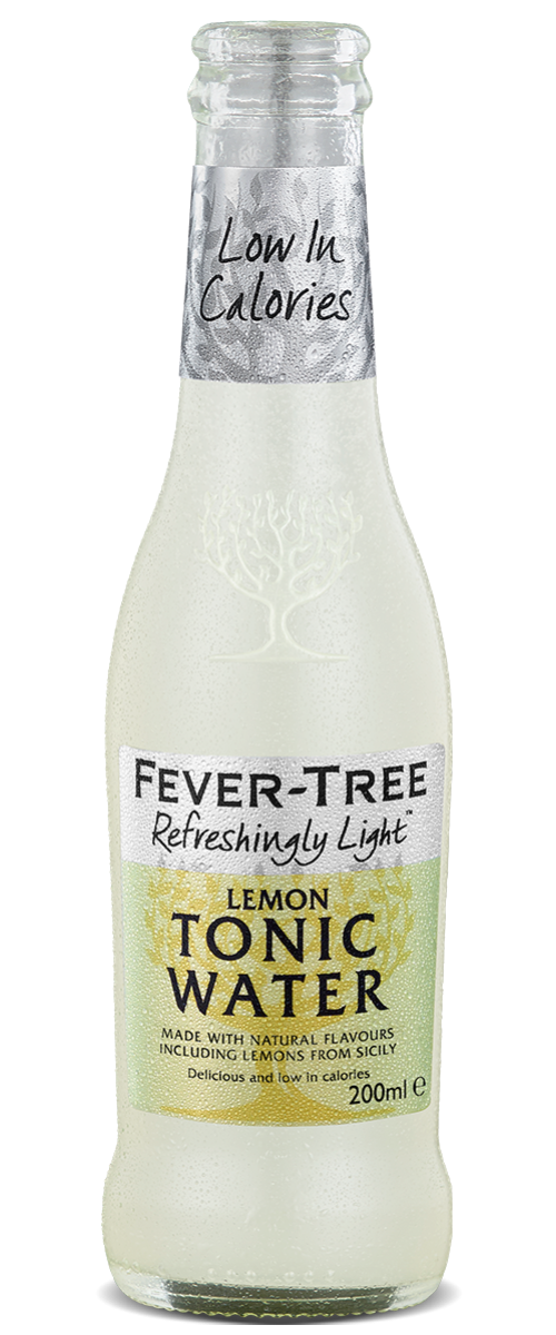 Fevertree Light Sicilian Lemon Tonic 24x200ml