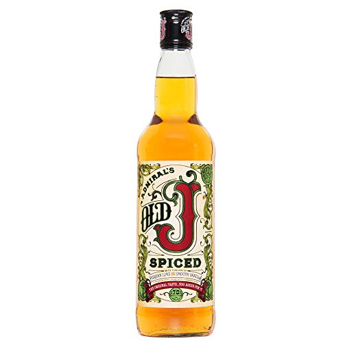 Admiral Vernons Old J Spiced 70 cl