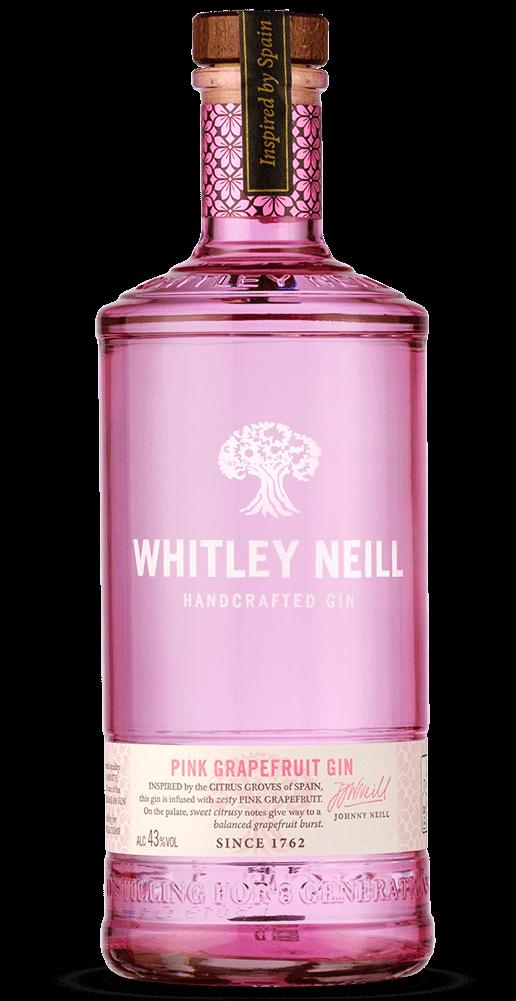 Whitley Neill Pink Grapefruit Gin 70cl