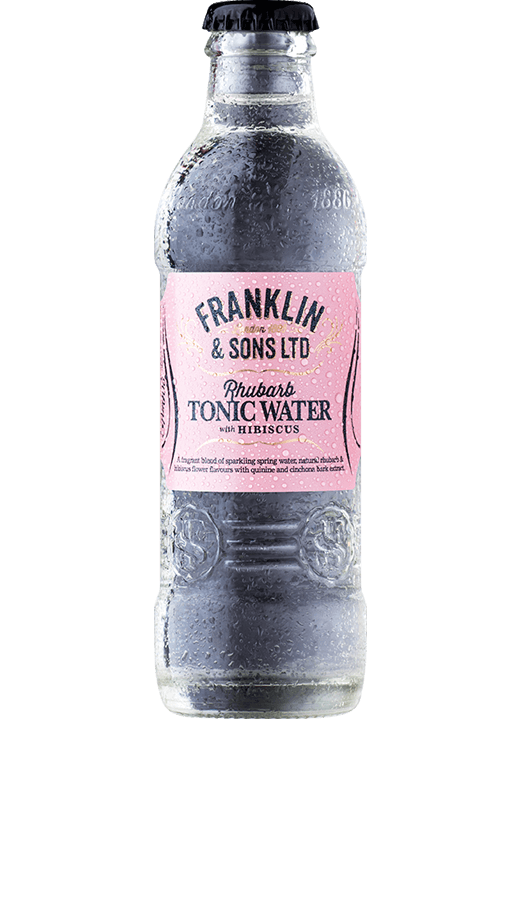 Franklin & Son's Rhubarb with Hibiscus Tonic 24x200ml