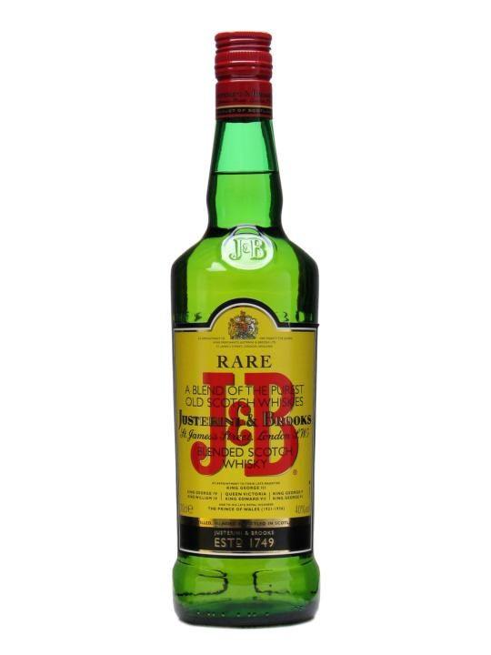 J & B Whisky 70cl