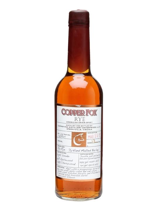 Copper Fox Rye 70cl