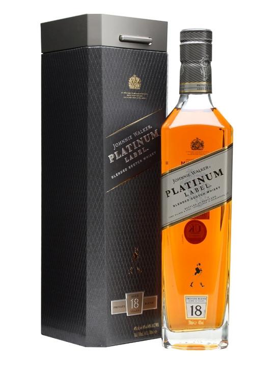 Johnnie Walker Platinum Whisky 70cl