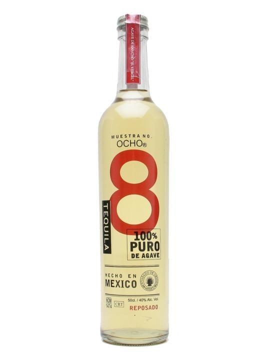 Ocho Reposado Tequila 50cl