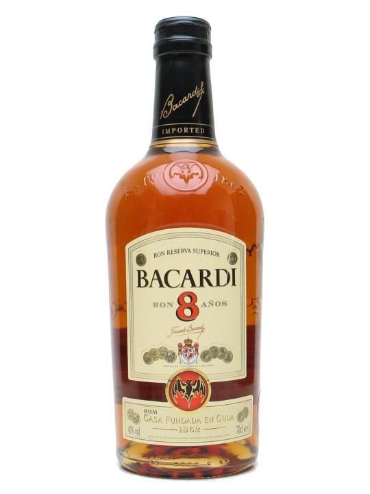 Bacardi 8yo Reserva Rum 70cl