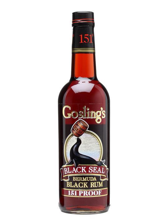 Gosling's Black Seal 151 Rum 70cl