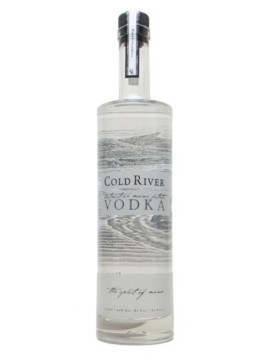 Cold River Vodka 70cl
