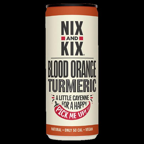Nix & Kix Blood Orange & Turmeric 24x250ml