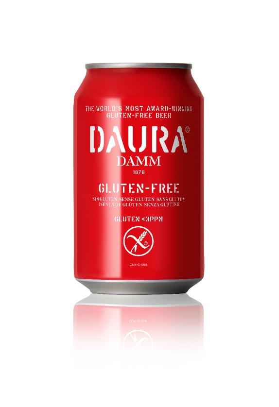 Damm Daura Gluten Free Beer 24x330ml Cans