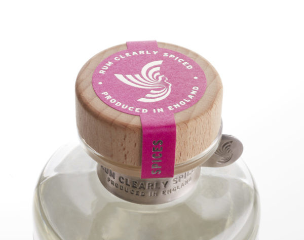 Sairen Clear Spiced Rum 70cl