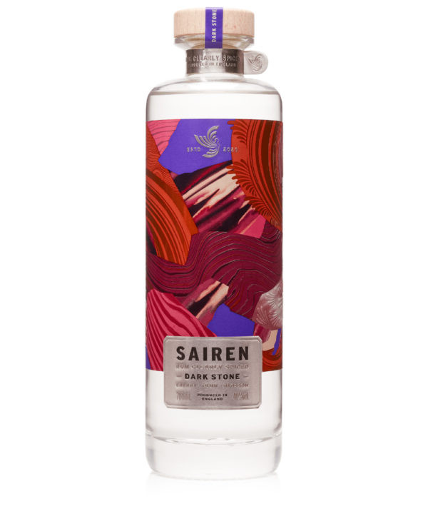Sairen Clear Spiced Rum 'Dark Stone' 70cl