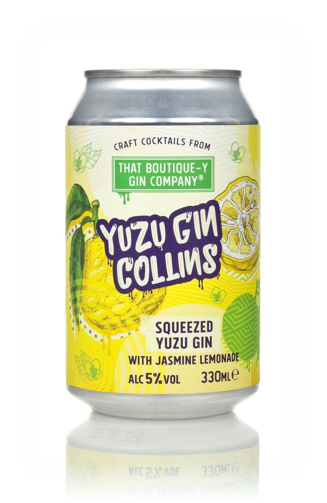 That Boutique-y Gin Company Yuzu Gin Collins Can 330ml