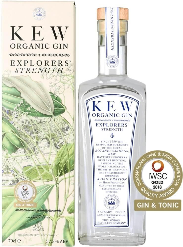 Kew Organic - Explorer's Strength Gin 70cl