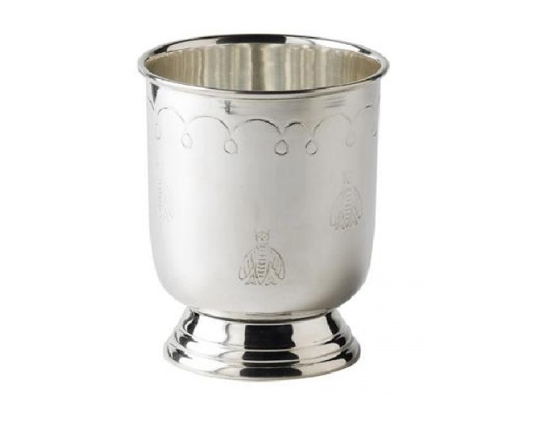 Prince' Julep Cup Silver-Plated with Barflies 35cl 12.25oz