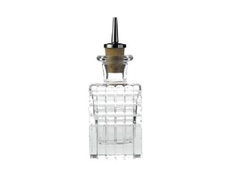 Square Dash Bottle 10cl 3.5oz