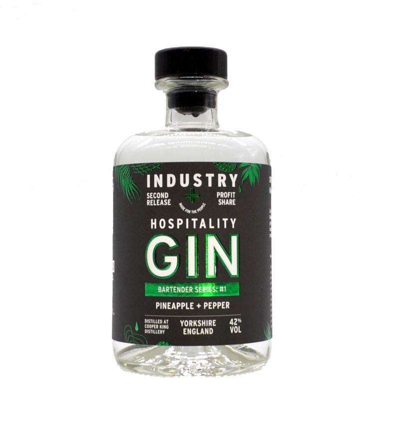 Hospitality Gin: Bartender Series - Pineapple + Pepper 70cl