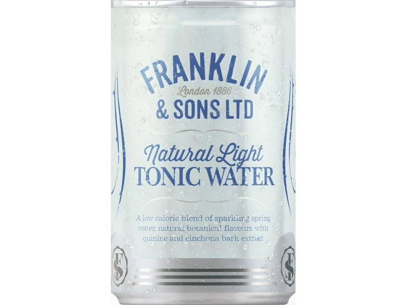 Franklin's Light Tonic Cans 24x150ml
