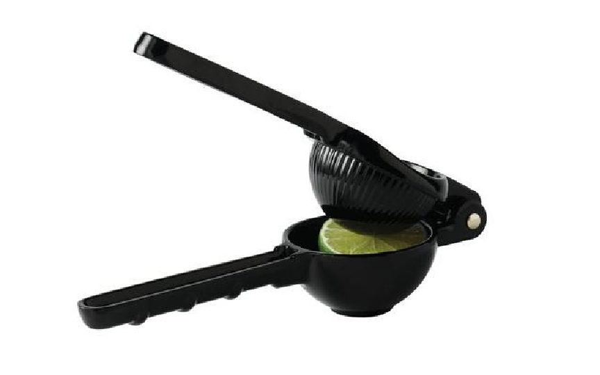 Lime Squeezer Black Zinc Alloy 21x7cm