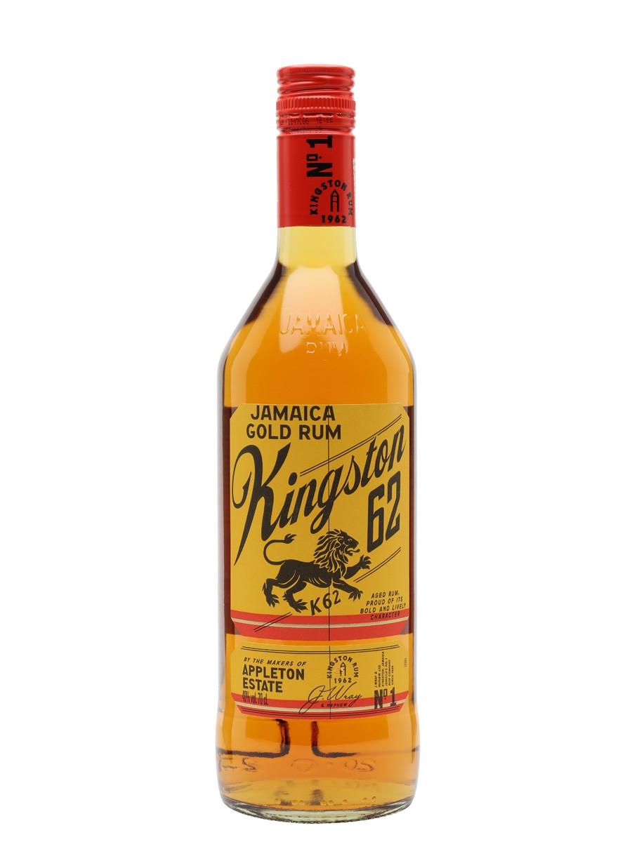 Kingston 62 Gold Rum 70cl