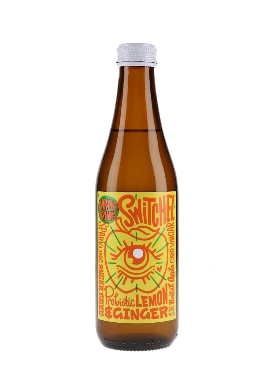 Karma Drinks Lemon and Ginger Switchels 12x300ml