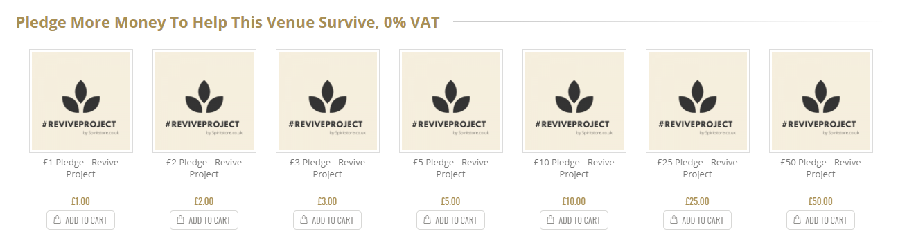 Revive Project Pledge