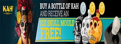 KAH Tequila Skull Offer