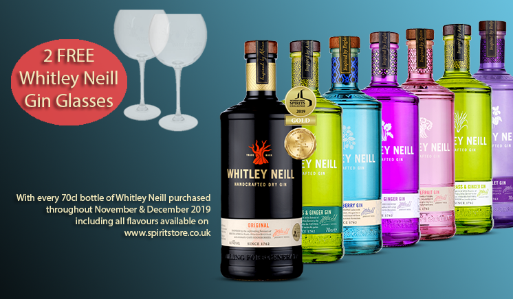 Whitley Neill Gin Offer